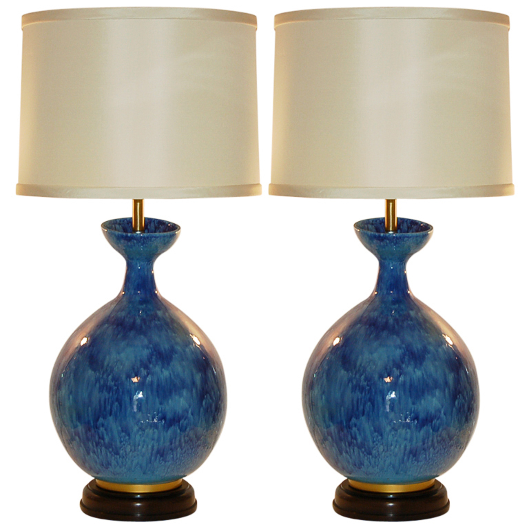 Huge vintage italian ceramic table lamps by the marbro lamp company huge vintage italian ceramic table lamps by the marbro lamp company aloadofball Image collections