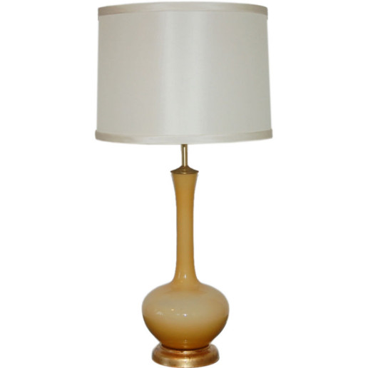 The Marbro Lamp Company - Monumental Lamp in Creme Brulee