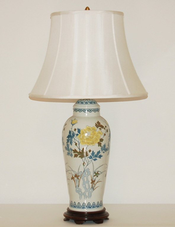 The Marbro Lamp Company Pair Of Vintage Porcelain Lamps