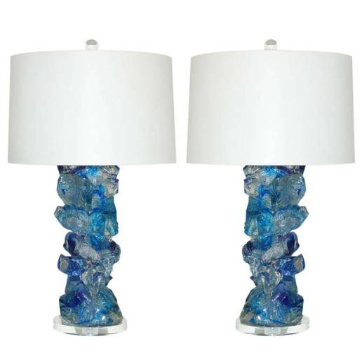 ROCK CANDY Lamps in COBALT CRYSTAL