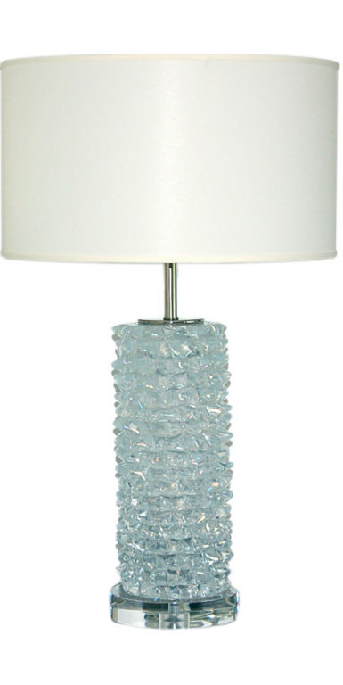 Rostrato Clear Crystal Murano Lamp