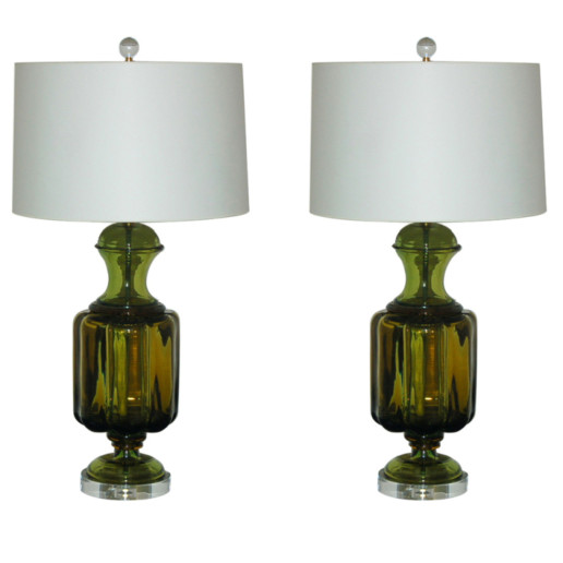 Marbro Lamp Company - Murano Lamps of Lemon Lime