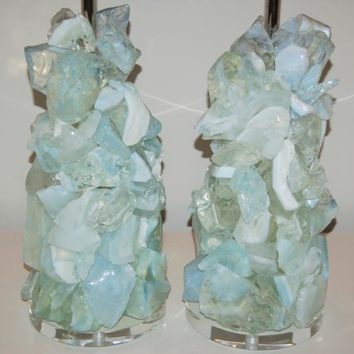 ROCK CANDY Lamps in HONEY OPALINE