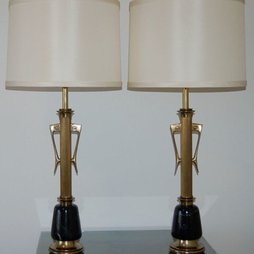 Massive Hollywood Regency Table Lamps
